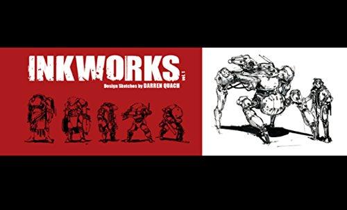 9781624650154: Inkworks: Darren Quach Sketchbook Vol. 01