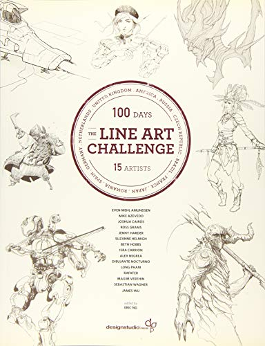 The Lineart Challenge: 100 Sketches For 100: Ng, Eric (edt)