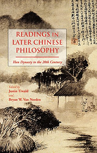 9781624661907: Readings in Later Chinese Philosophy: Han to the 20th Century