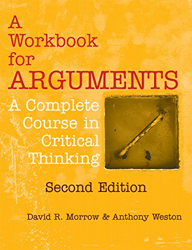 9781624664281: A Workbook for Arguments, Second Edition: A Complete Course in Critical Thinking
