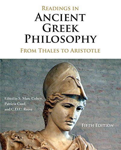 Readings in Ancient Greek Philosophy: From Thales: Hackett Publishing Company,