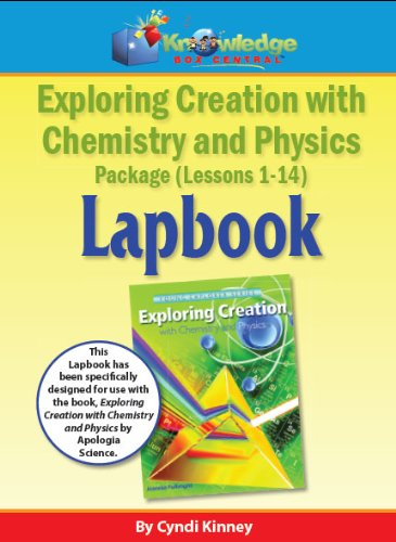 9781624720536: Exploring Creation w/ Chemistry and Physics Lapbook Package Lessons 1-14 - PRINTED