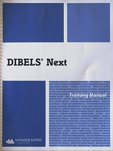 Dibels Next, Training Manual, 9781624892011, 1624892019