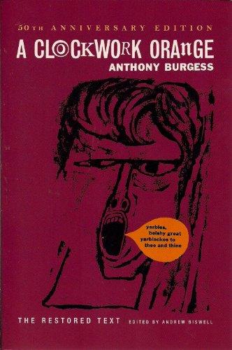 a clockwork orange anthony burgess book pdf