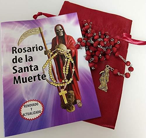 9781625040596: Beautiful Holy Death Rosary and Prayer Book (Text in Spanish). Hermoso Rosario De La Santa Muerte, Con Libro Para Rezarlo.