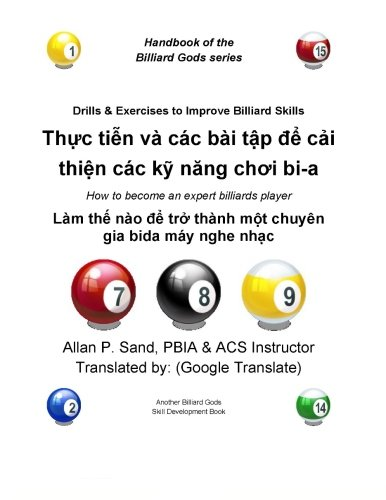Drills Exercises to Improve Billiard Skills (Vietnamese): How to Become an Expert Billiards Player:...