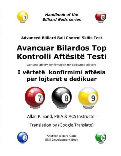 Advanced Billiard Ball Control Skills Test (Albanian): Allan P Sand