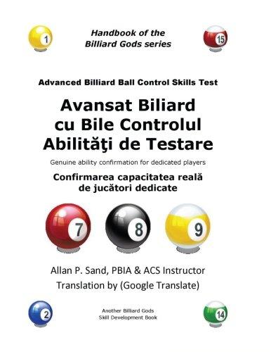 Avansat Biliard Cu Bile Controlul Abilitati de: Allan P Sand