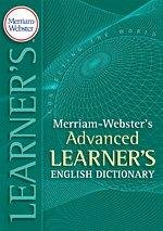 9781625133342: Merriam-Webster's Advanced Learner's English Dictionary Paperback