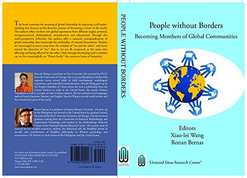 9781625200167: PEOPLE WITHOUT BORDERS: Becoming Members of Global Communities