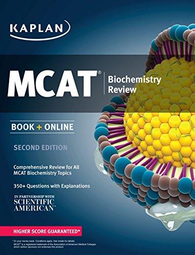 Kaplan MCAT Biochemistry Review Book + Online: Kaplan
