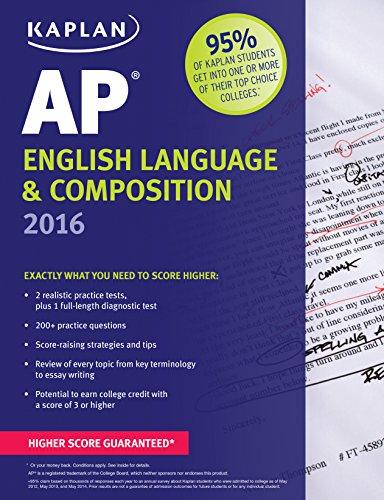 Kaplan AP English Language & Composition 2016 (Kaplan Test Prep): Pivarnik-Nova, Denise
