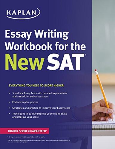 9781625231567: Kaplan Essay Writing Workbook for the New SAT (Kaplan Test Prep)