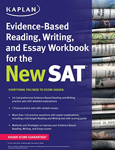 9781625231574: Kaplan Evidence-Based Reading, Writing, and Essay Workbook for the New SAT (Kaplan Test Prep)