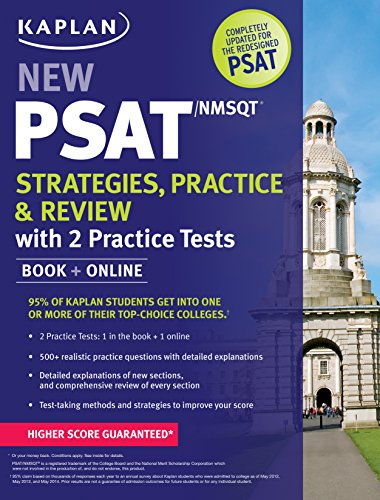 9781625232403: Kaplan New PSAT/NMSQT Strategies, Practice and Review with 2 Practice Tests: Book + Online (Kaplan Test Prep)
