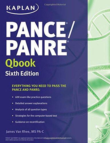 9781625232649: PANCE/PANRE Qbook