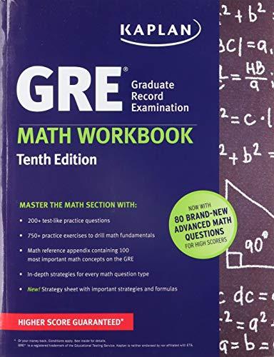 9781625232991: GRE Math Workbook (Kaplan Test Prep)