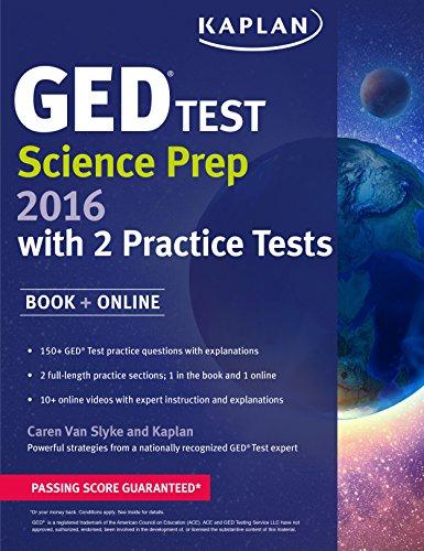 9781625233011: Kaplan GED Test Science Prep 2016 (Kaplan Test Prep)