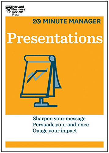 9781625270863: Presentations (HBR 20-Minute Manager Series)