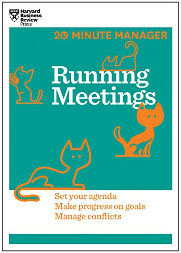 9781625272256: Running Meetings (HBR 20-Minute Manager Series)