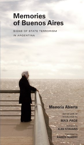 9781625340108: Memories of Buenos Aires: Signs of State Terrorism in Argentina (Public History in Historical Perspective)