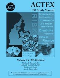 9781625422095: Actex Fm/2 Study Manual, 2014 Edition
