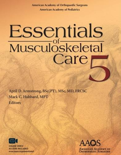 9781625524157: Essentials of Musculoskeletal Care, 5th Edition