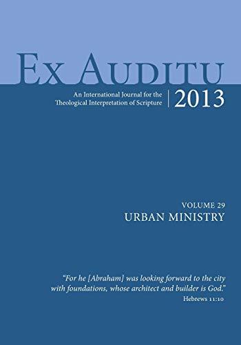 Ex Auditu - Volume 29: An International: Pickwick Publications