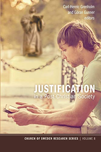Justification in a Post-Christian Society (Chruch of: Pickwick Publications
