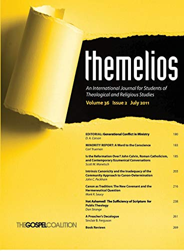 9781625649546: Themelios, Volume 36, Issue 2