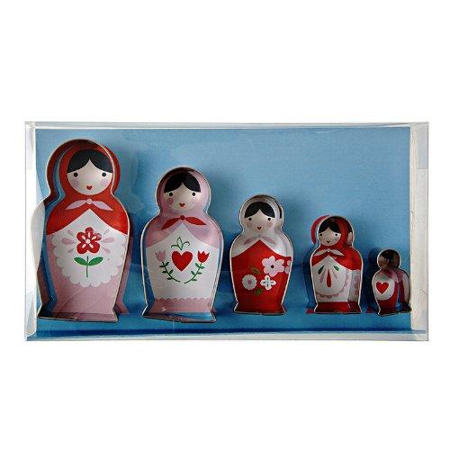9781625685193: Russian Doll Cookie Cutter Set - 5 Piece Set