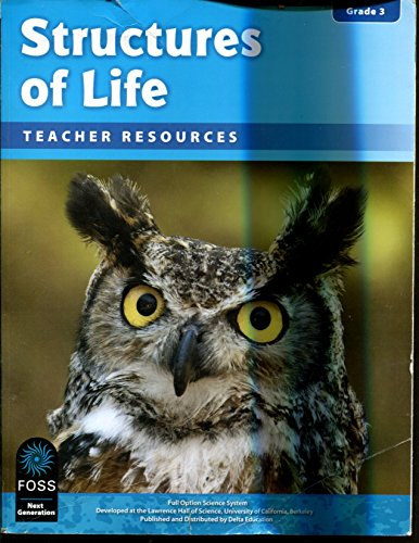 9781625713162: Structures of Live Teacher Resources FOSS Grade 3 Science Systems