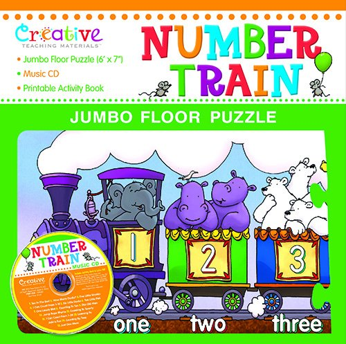 9781625810472: Numbers Jumbo Floor Puzzle with CD