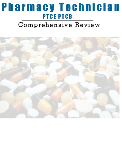9781625909671: Pharmacy Technician Certification Exam Review Study Guide PTCB PTCE Pharmacy Exam Comprehensive Review with 3,000 Questions simulation software for Windows PCs