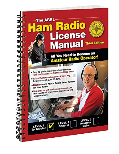 The ARRL Ham Radio License Manual Spiral Bound: ARRL Inc.