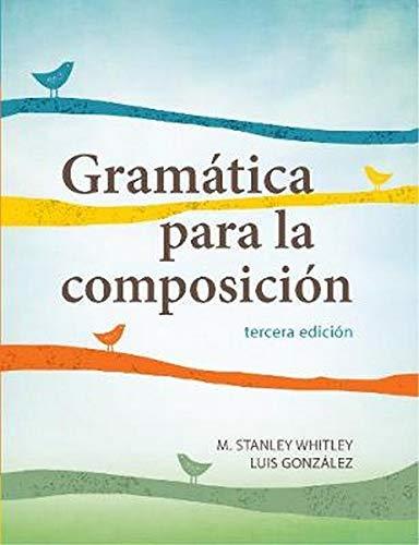 9781626162556: Gramática para la composición
