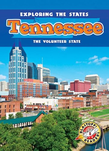 Tennessee: The Volunteer State (Library Binding): Amy Rechner