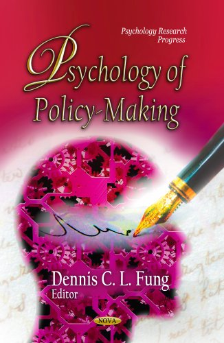 9781626188099: Psychology of Policy-Making (Psychology Research Progress)