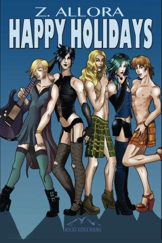 9781626220249: Happy Holidays (The Dark Angels) (Volume 4)