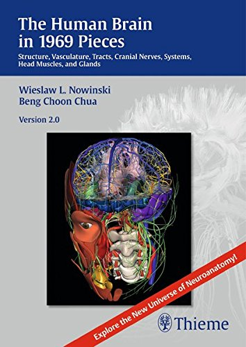 9781626230194: The Human Brain in 1969 Pieces 2.0: Structure, Vasculature, Tracts, Cranial Nerves, Systems, Head Muscles, and Tracts