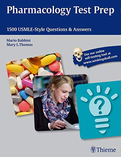 9781626230415: Pharmacology Test Prep: 1500 Usmle-Style Questions & Answers