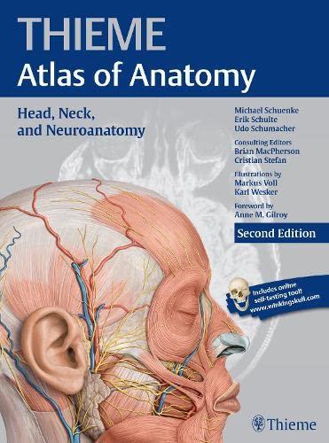 9781626231207: Head, Neck, and Neuroanatomy, 2e (THIEME Atlas of Anatomy)