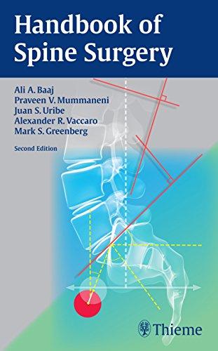 9781626231634: Handbook of Spine Surgery