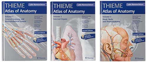 Atlas of Anatomy, 2e, LATIN, 3-Volume Set: Michael Schuenke