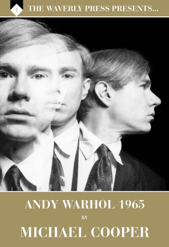 andy warhol 1965 by michael cooper signed numbered deluxe edition the waverly press presents volume 1