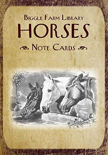 9781626361508: Biggle Farm Library Note Cards: Horses