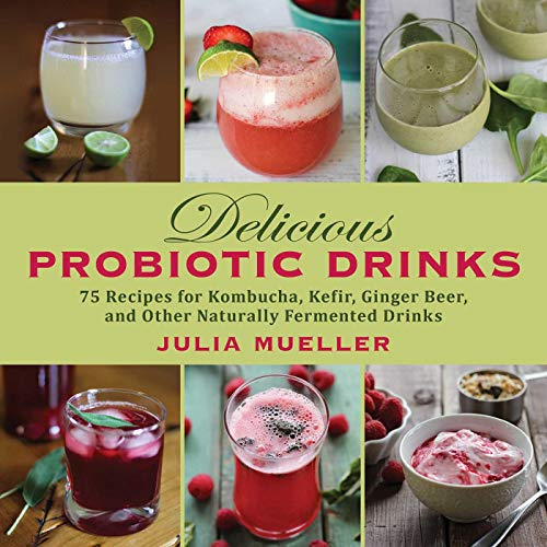 9781626363922: Delcious Probiotic Drinks: 75 Recipes for Kombucha, Kefir, Ginger Beer, and Other Naturally Fermented Drinks