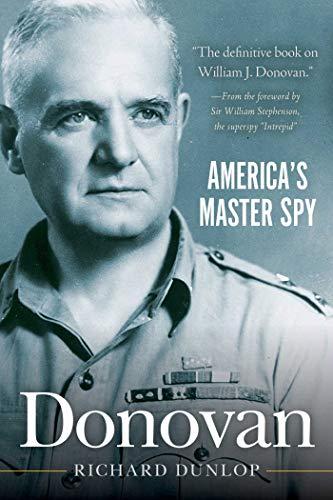 9781626365391: Donovan: America's Master Spy