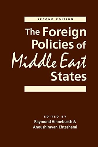 9781626370289: The Foreign Policies of Middle East States