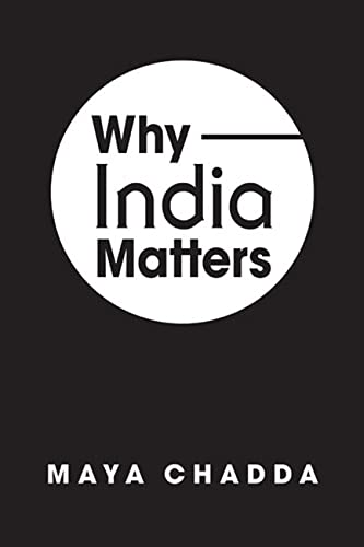 9781626370395: Why India Matters